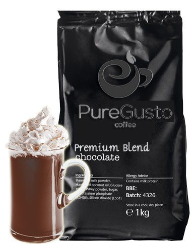 PureGusto Premium Blend Hot Chocolate Powder